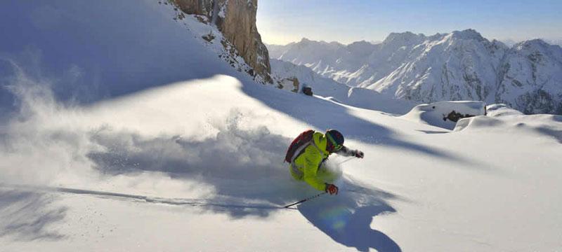 Gevarieerd skigebied in Tirol