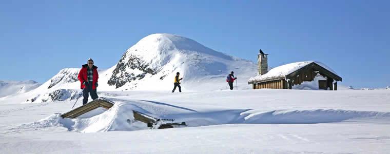 Skivakantie in Noorwegen