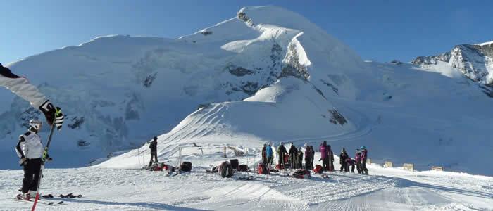 Saas-Fee Wintersport