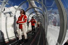 skiën bij Arlberg