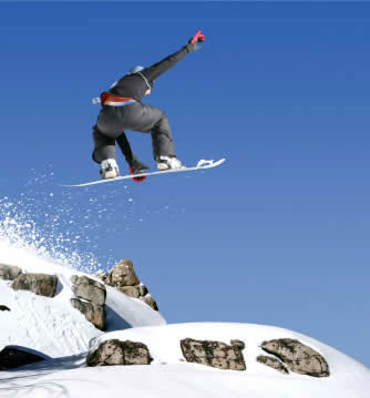 Goed ontsloten skigebied