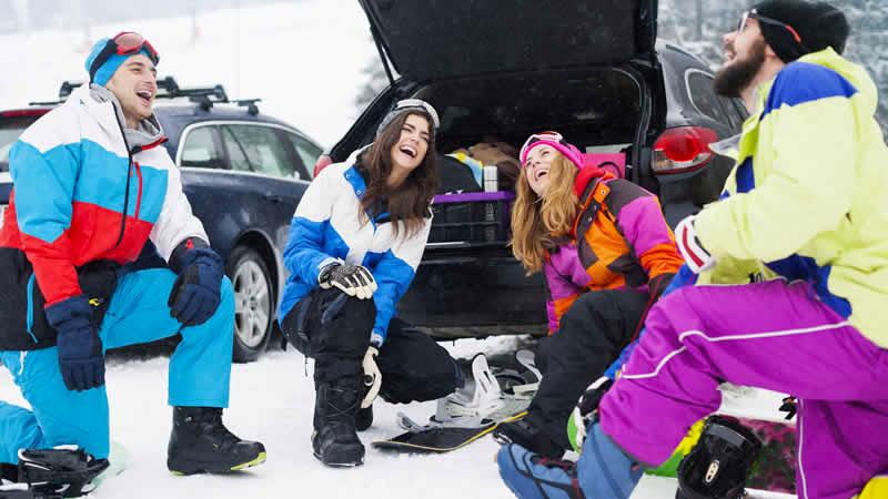 Voordelen auto wintersport