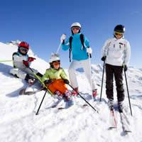 Gevarieerde sneeuwsport voor familie tot crack