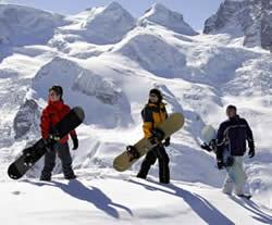 Sneeuwzekere winter in Alpenarena