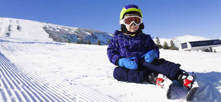 Met kids op skivakantie