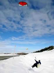 Snowkiting en Airboarden, leuk of link