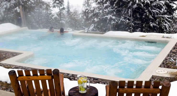 Appartement wintersport met wellness en zwembad