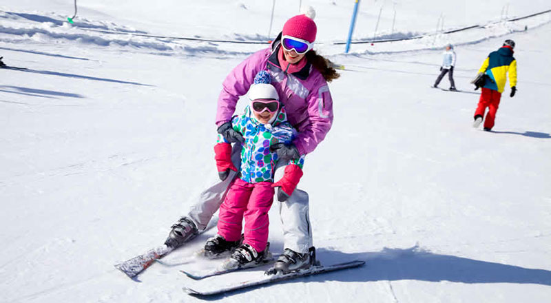 Wintersport kinderen Tsjechië