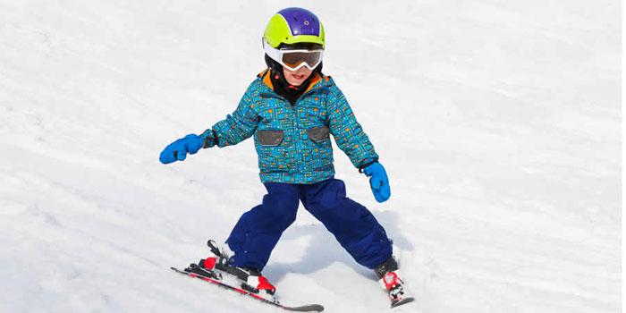 Wintersport kinderen Duitsland