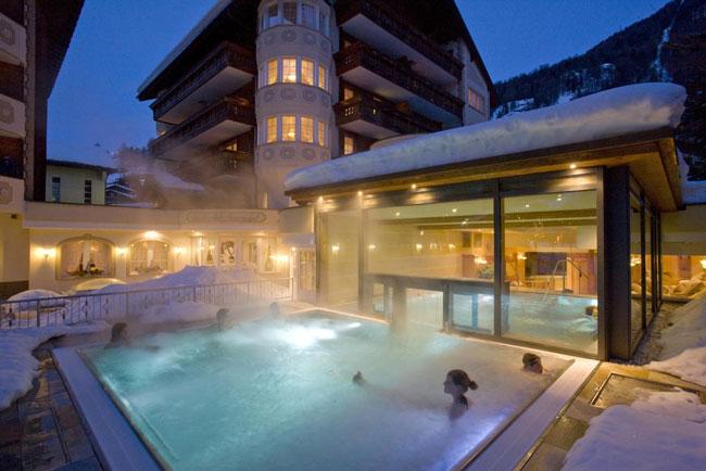 Wintersport verblijf met zwembad