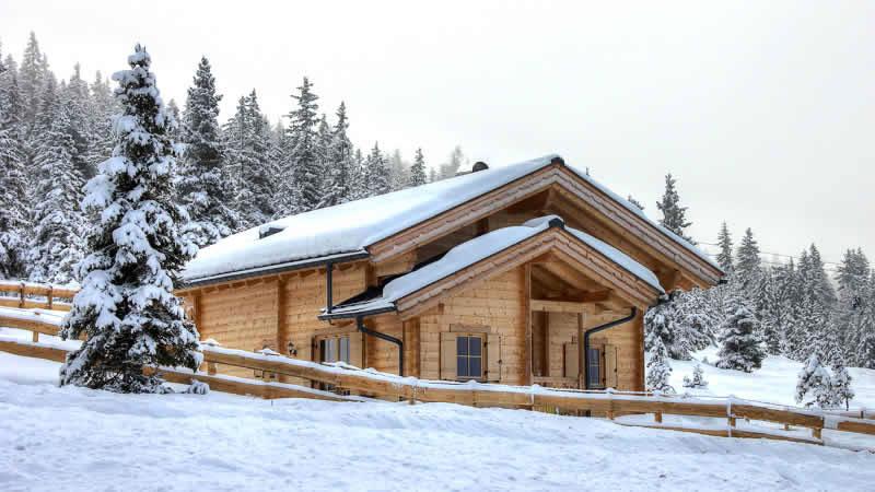 Groene accommodatie voor duurzame wintersport