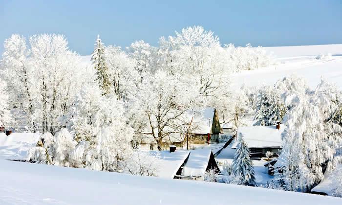 Tsjechië Pec Pod Snezkou wintersport