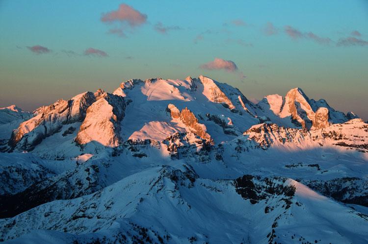Wintersport in Dolimiti Superski