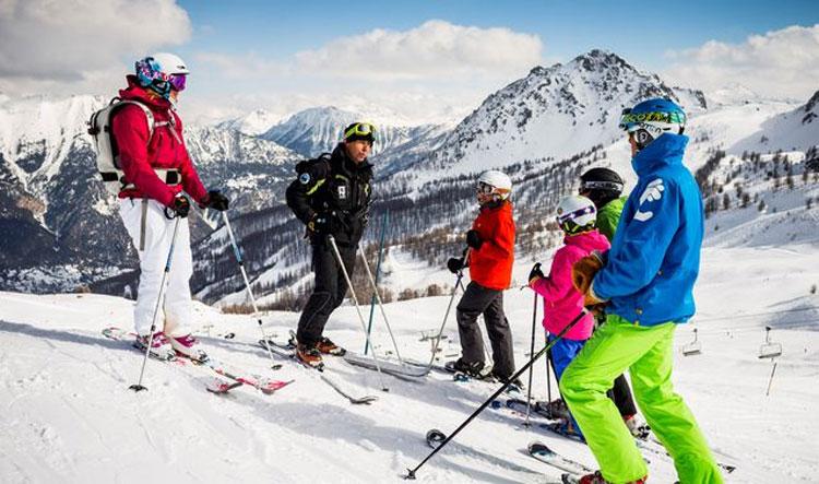 Wintersport in Le Grand Serre Chevalier