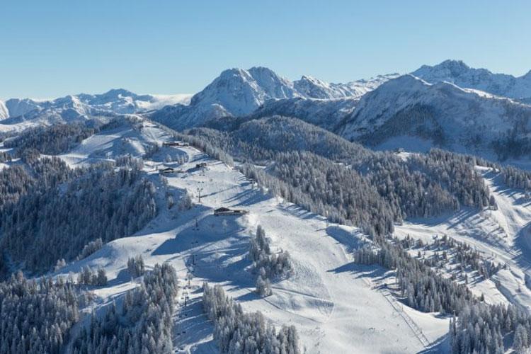 Omgeving skigebied Langau