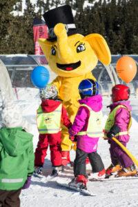 Kinderen wintersport in Zillertal