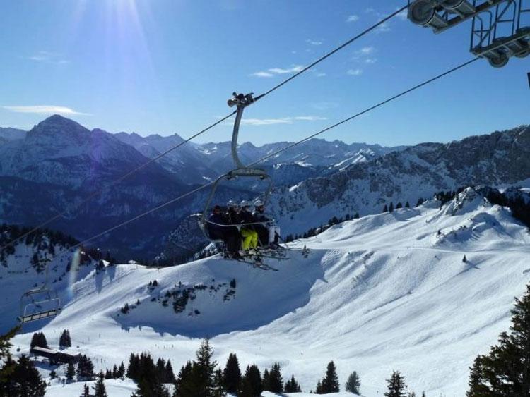 Wintersport in Allgäu