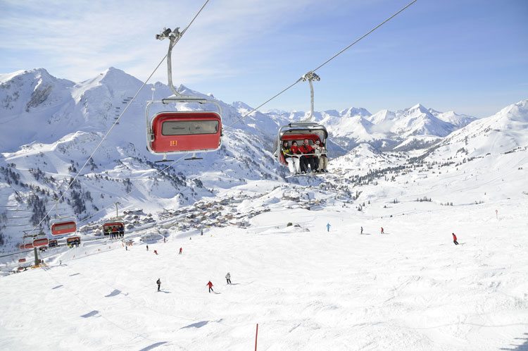 Wintersport in Gnadenalm - Obertauern