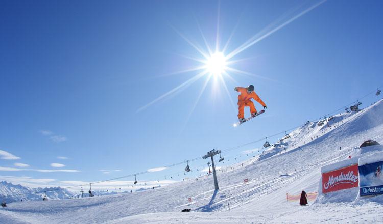 Wintersport in het Hochzillertal