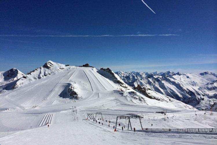 Omgeving wintersportgebied Kärnten
