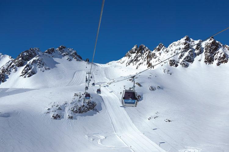 Wintersport in Kaunertal