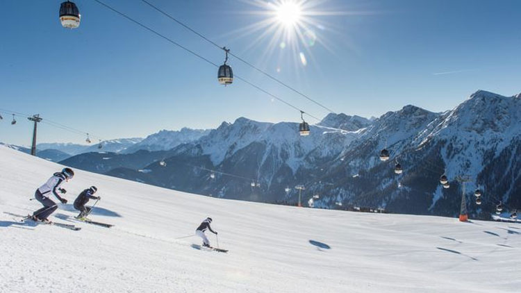 Wintersport in Kronplatz