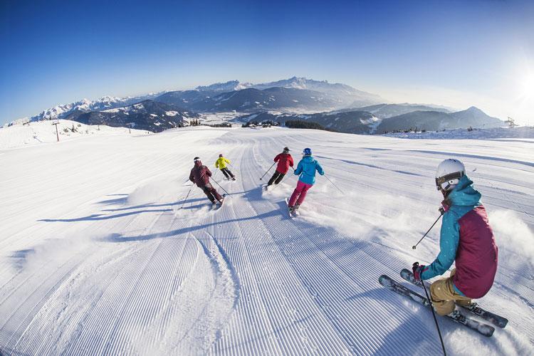 Wintersport in Langau