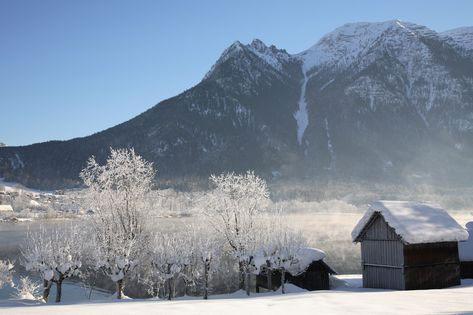 Wintersport omgeving in Oberösterreich