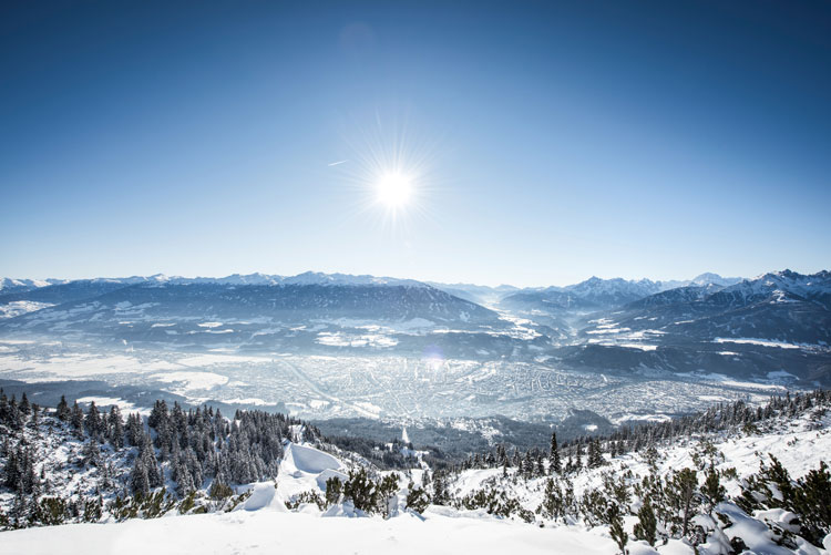 Wintersport in Innsbruck