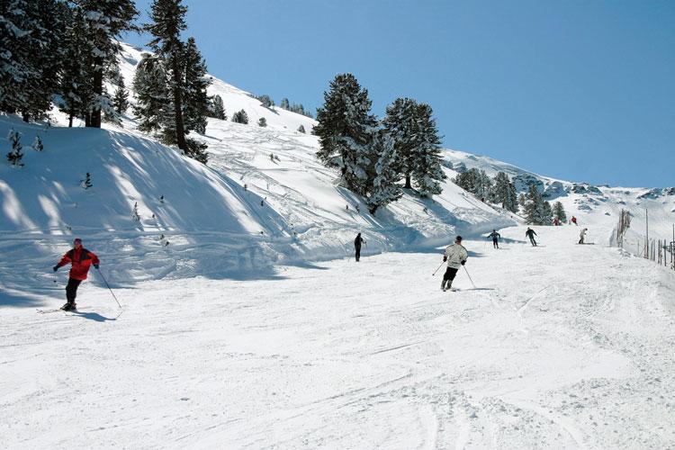 Skiën Olympia Skiworld Innsbruck