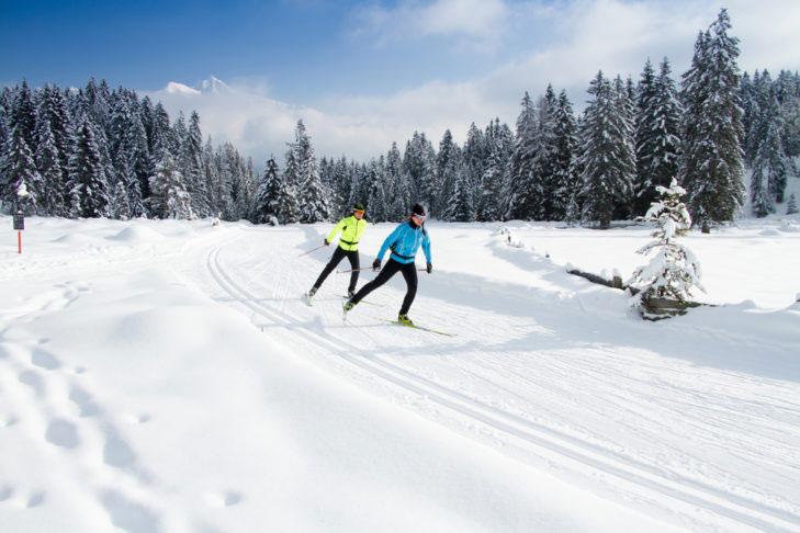 Langlaufen in Olympiaregion Seefeld
