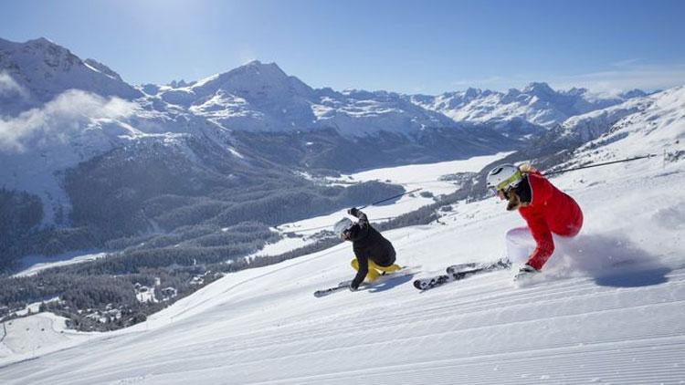 Wintersport in St. Moritz
