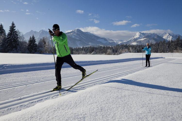 Wintersport in Val di Fiemme