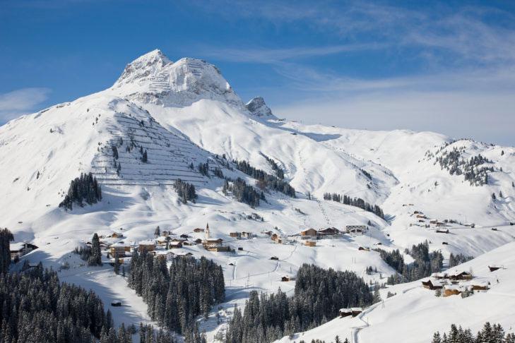 Wintersportgebied Warth-Schröcken