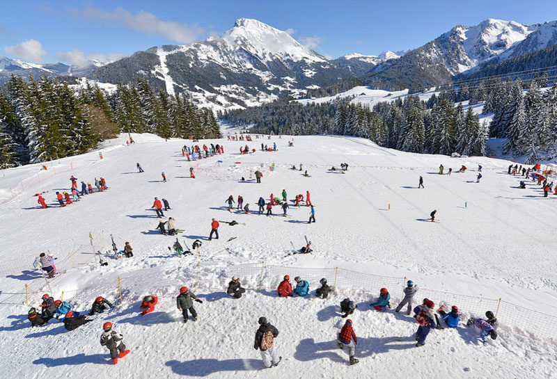 Skigebied Frankrijk